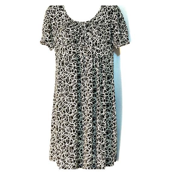 Candy Rain Maternity Dresses & Skirts - Black and White Print Maternity Dress